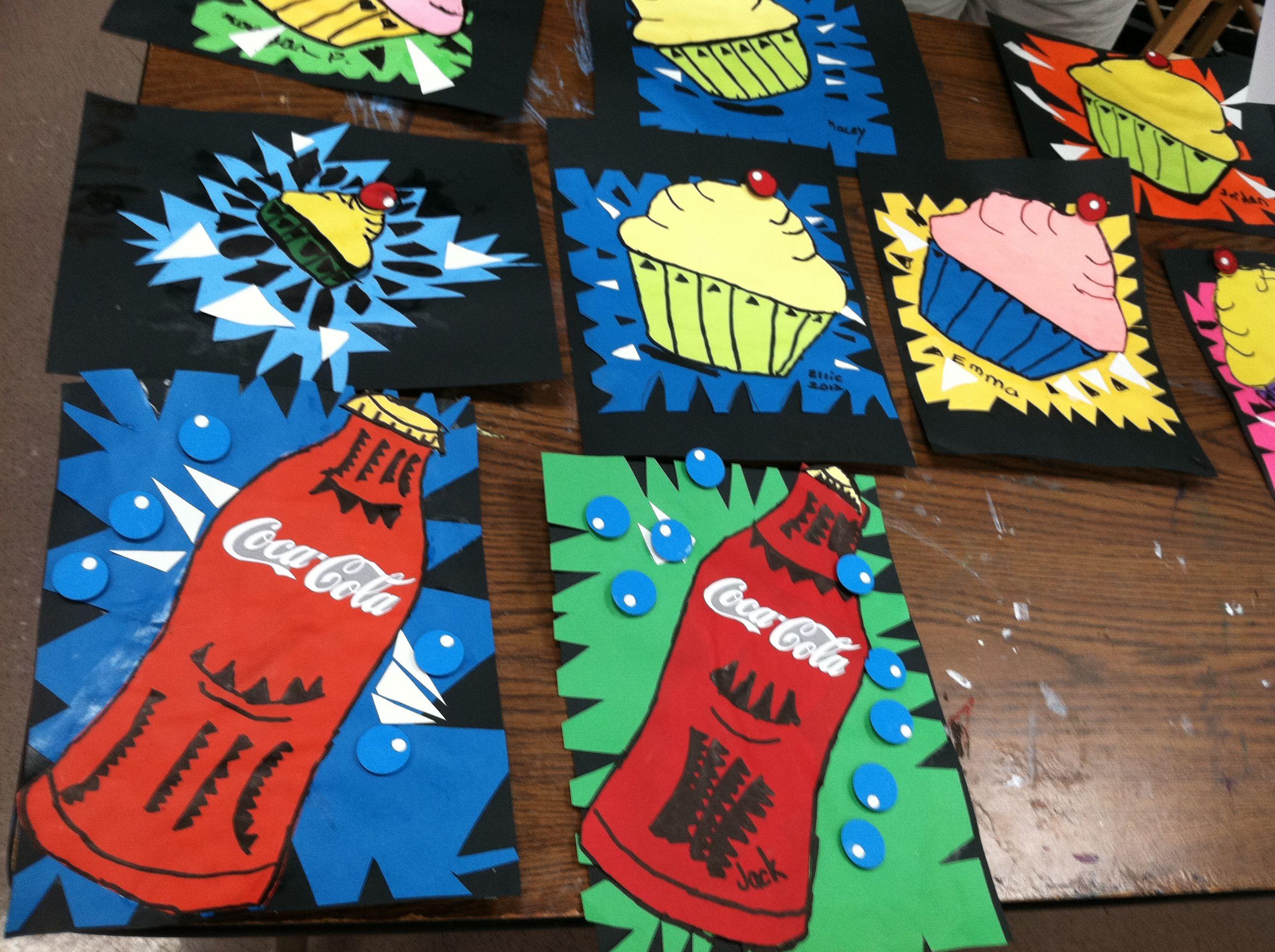 Pin On Art Lesson Ideas Pop Art