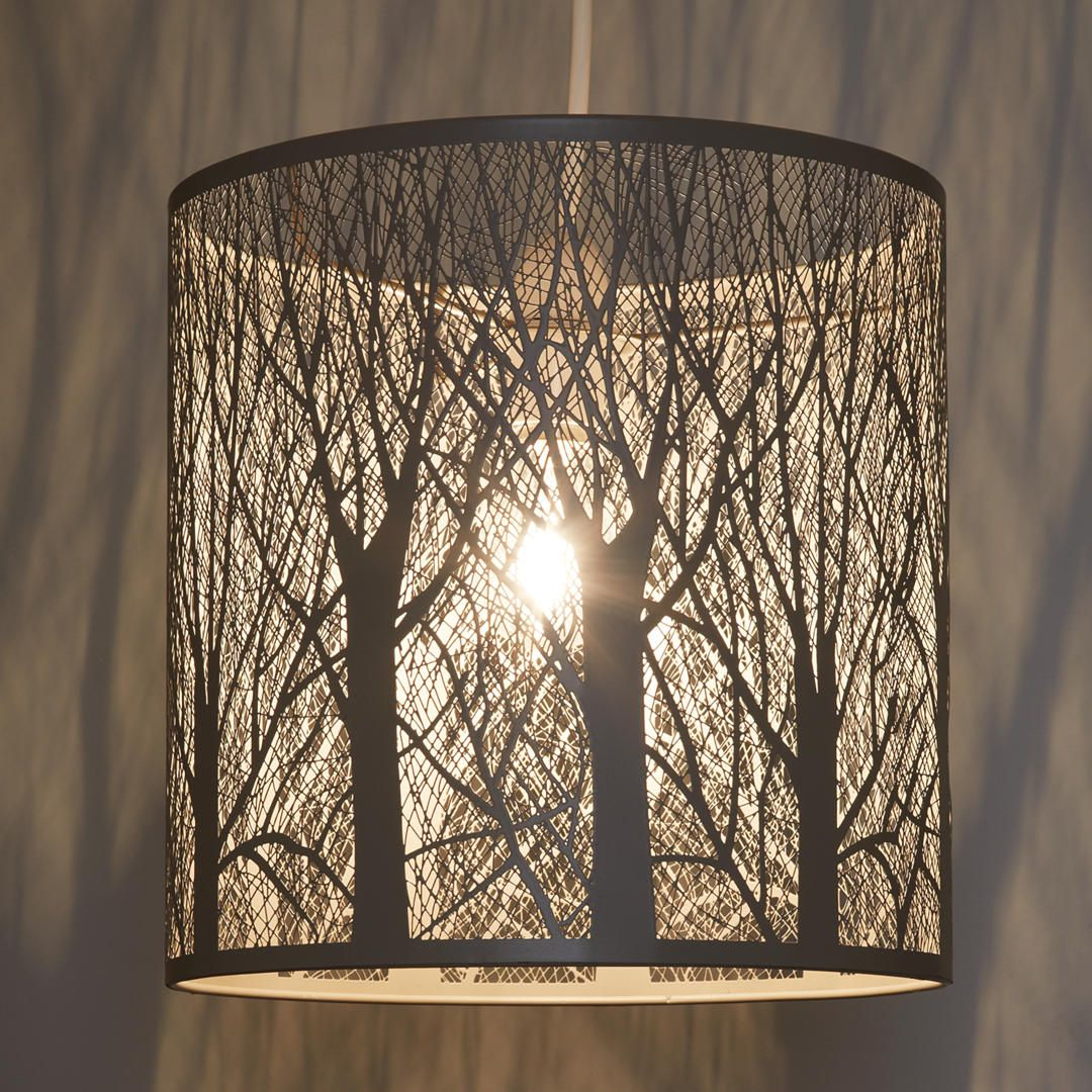 John Lewis Partners Devon Easy To Fit Small Ceiling Shade Taupe Ceiling Shades Rustic Light Fixtures Light Shades