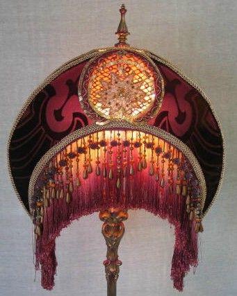 Plum Nouveau From Deborah Harper Victorian Lighting Vintage Lamps Beautiful Chandelier