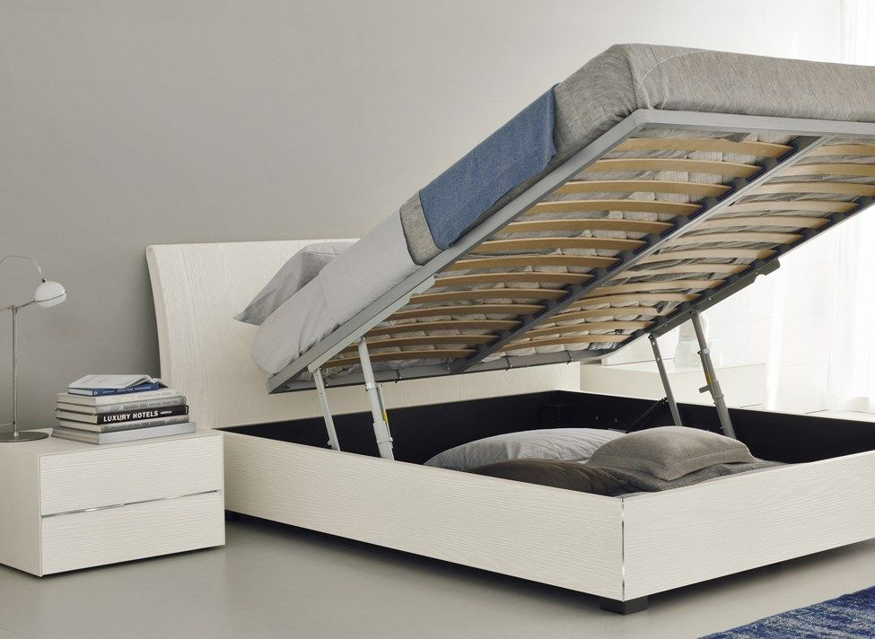 Lift Up Bed King Size Storage
