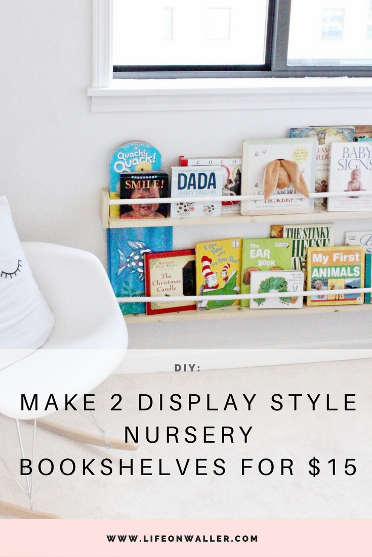 Make 2 Display Style Nursery Bookshelves For 15 Bookshelf Work From Home Jobs