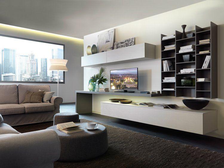 qualcosa diverso per il tuo soggiorno? mobili moderni in bianco e ... - Mobili Moderni Foto