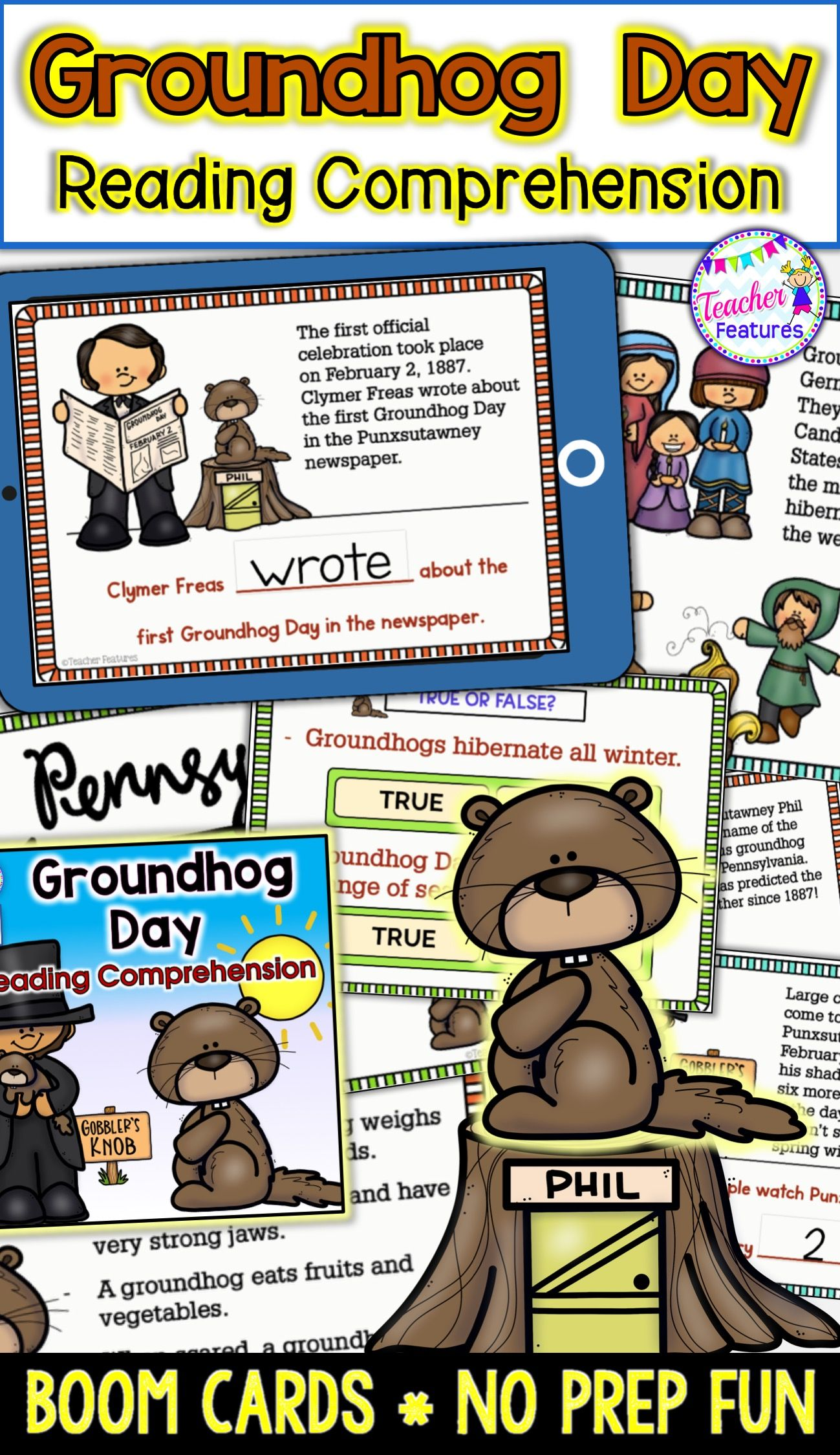 Groundhog Day History With Reading Comprehension Questions