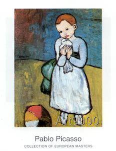 Pablo Picasso - Child with dove