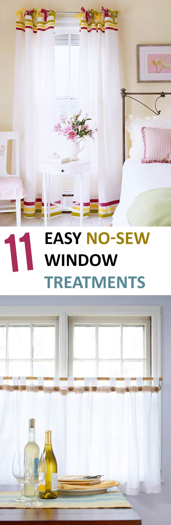 DIY Window Treatments, DIY Window, Window Treatments ...
