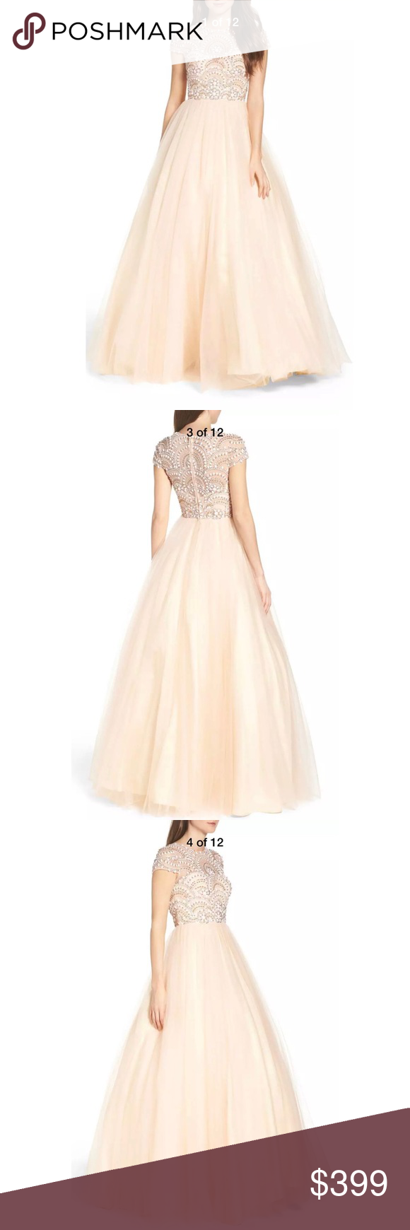 New Mac Duggal beaded bodice tulle ballgown in 2018 | My