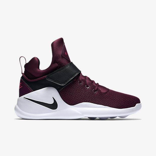 Nike Kwazi Men's Shoe Night MaroonAction RedWhiteBlack