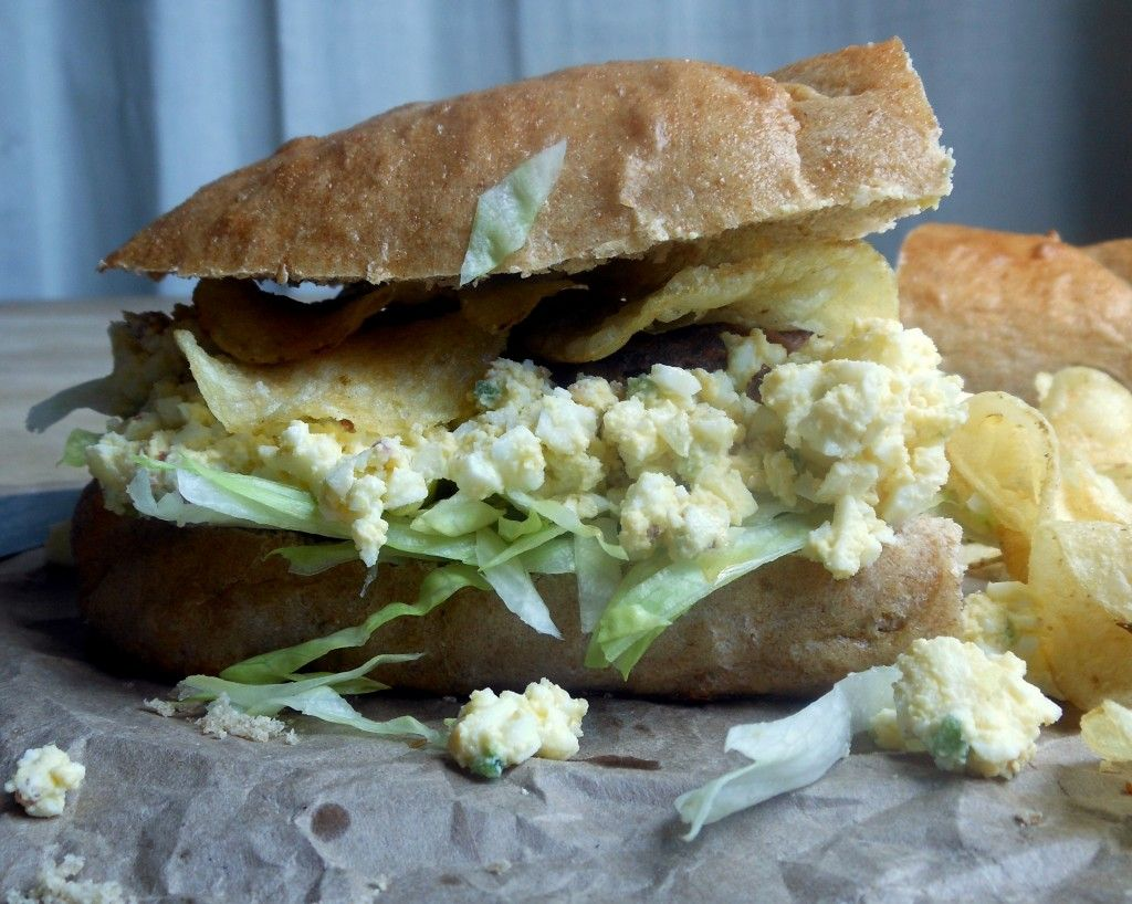 Best dang egg salad recipe ever sugar dish me the cookbook best dang egg salad recipe ever is loaded with bacon white wine vinegar jalapenos on thick slices of bread it really is the best dang version ever forumfinder Choice Image