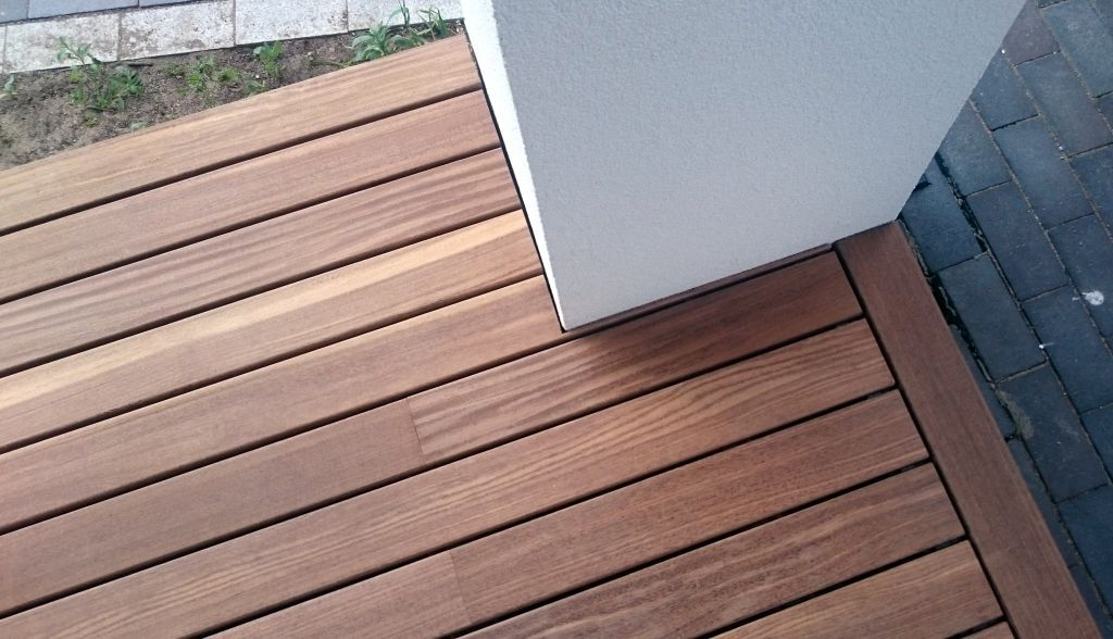 Very beautiful Softline, Jaya decking UAB \ - construction terrasse en bois sur parpaing