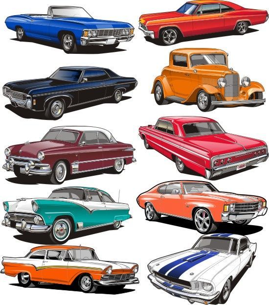 Image Result For Free Classic Car Clipart With Images Hot Rods