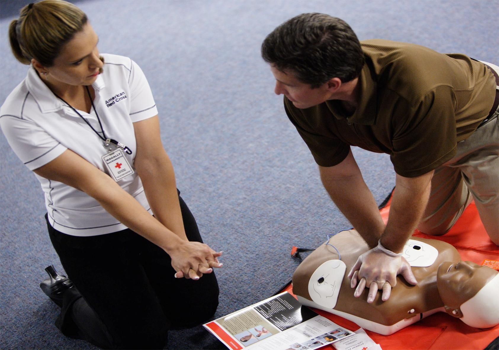 Learn CPR to assist in a natural disaster Getting ready