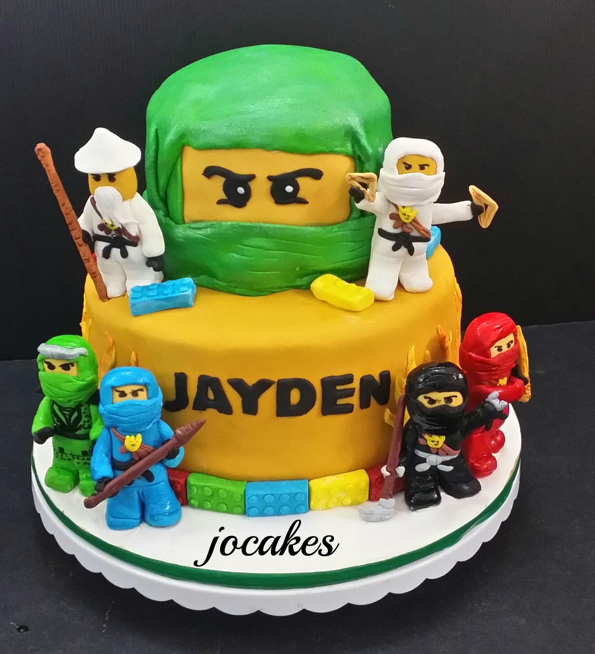 Lego Ninjago Birthday Party Google Search: Lego Ninjago Cake - Google Search