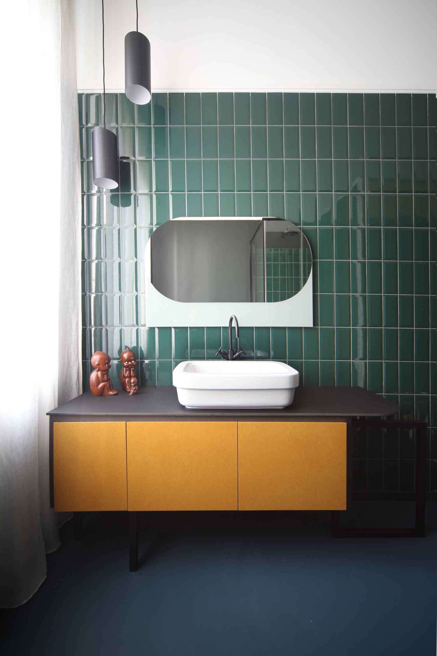 Metaphisical Remix: Apartment in Turin by UDA Architetti. | Salle de ...
