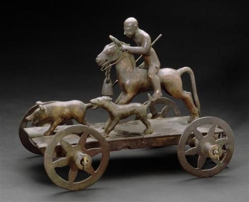 Celtique Bronze sanglier miniature