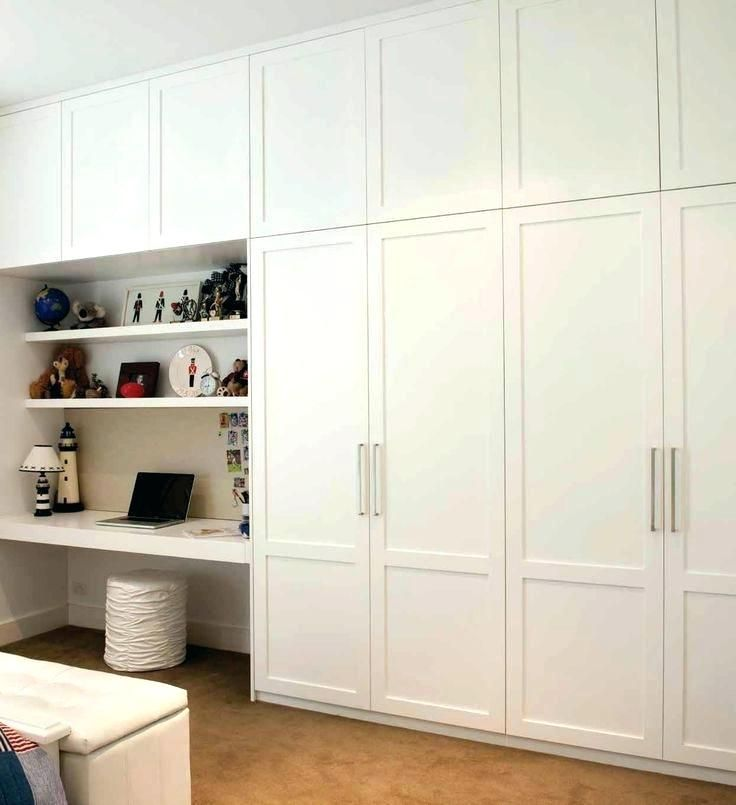 Floor to ceiling cupboards to maximise storage. Don't like ...