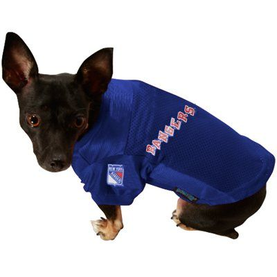 9a0c325fb3c New York Rangers Royal Blue Pet Jersey | It's So Fluffy I'm Gonna ...