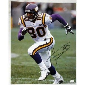 Image detail for -Cris Carter Signed Picture - 16x20 Jsa #f77959 - Autographed NFL ...