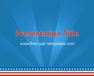 America powerpoint template is a blue template with details from america powerpoint template is a blue template with details from the us flag which you can toneelgroepblik Images