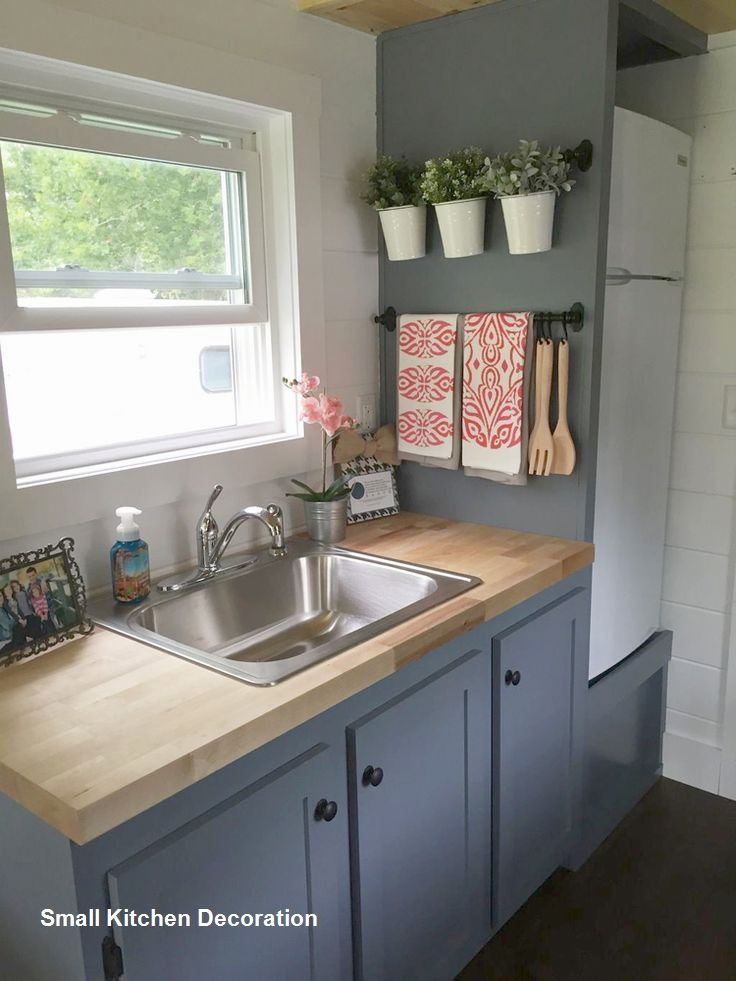 10 Clever Ideas For Small Kitchen Decoration In 2019 Good To Know