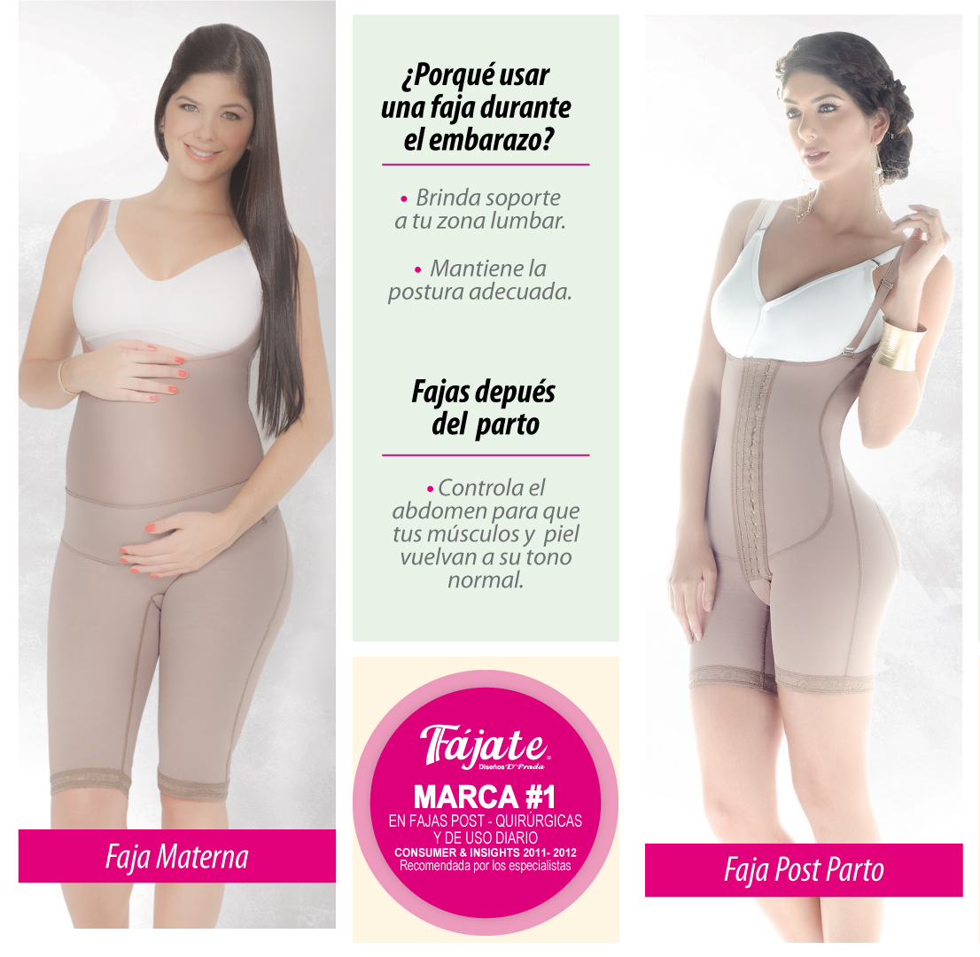 beneficios de usar faja despues del parto