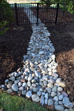 Drainage Ideas For Backyard find this pin and more on yard drainage Drainage Ditch Landscaping Bing Images