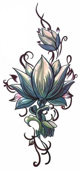 Jung lotus flower temporary tattoo tattoo pinterest tattoos set tattoo sheet size 20cml10cmw tattoo application removal instructions asian chinese script vertical mandala tribal lotus flower floral tattoo mightylinksfo