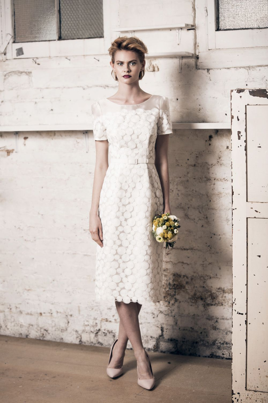 Tea Length Wedding Dress Mu Bridal London