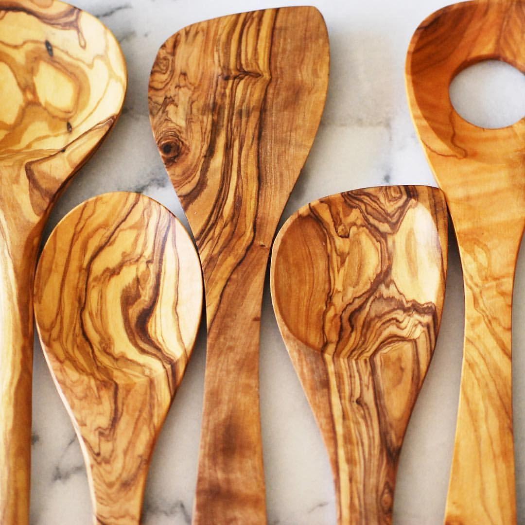 Olive Wood Kitchen Utensils #8 - Olive Wood Kitchen Utensils By A Kitchen Box | Birthday | Pinterest |  Utensils
