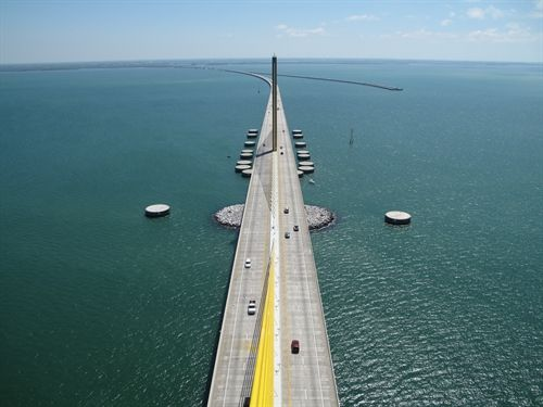 We love the Sunshine Skyway Bridge for being an iconic, world-famous bridge.