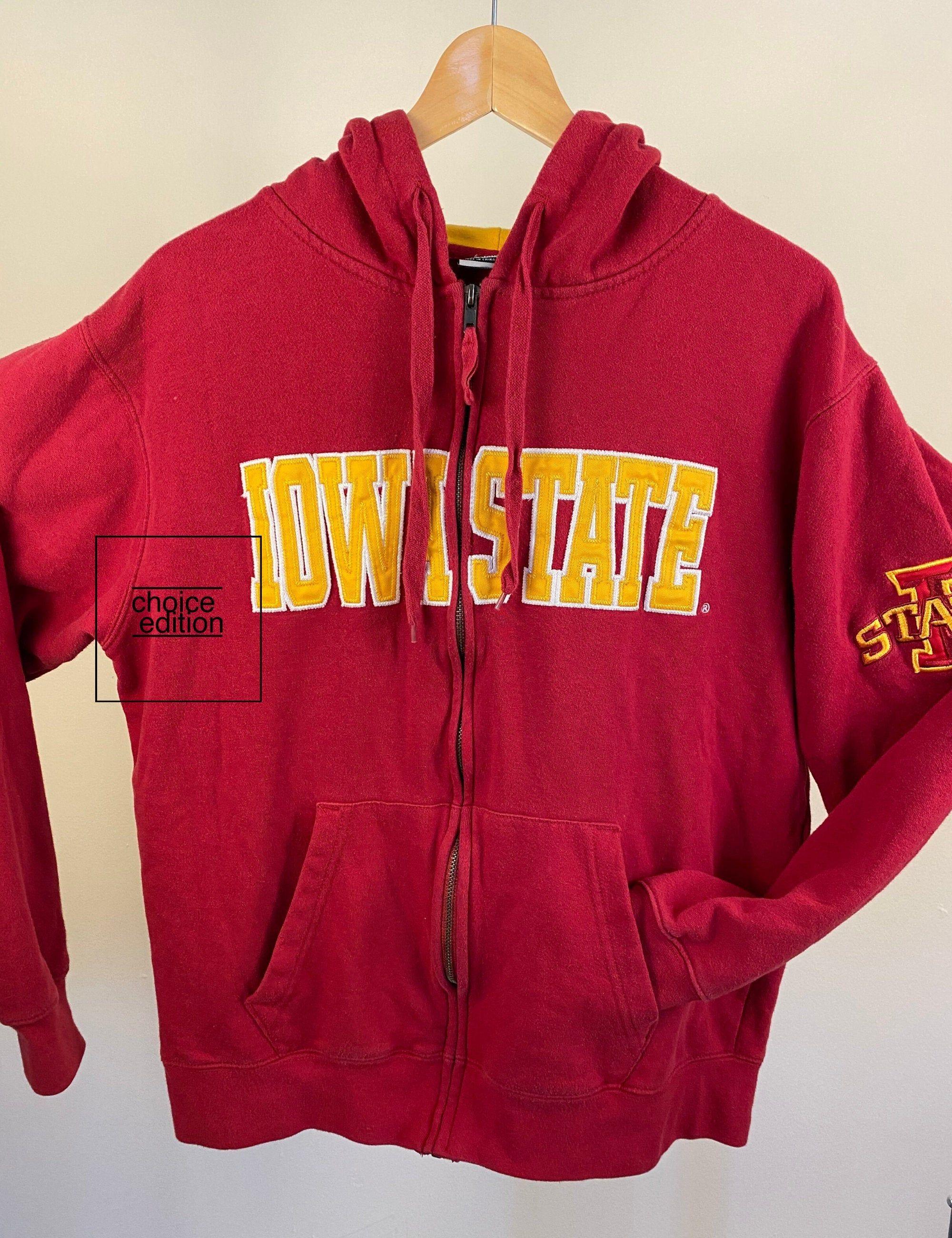 Vintage Red College Sweatshirt Iowa State University Logo Etsy College Sweatshirt University Logo Red College [ 2600 x 2000 Pixel ]