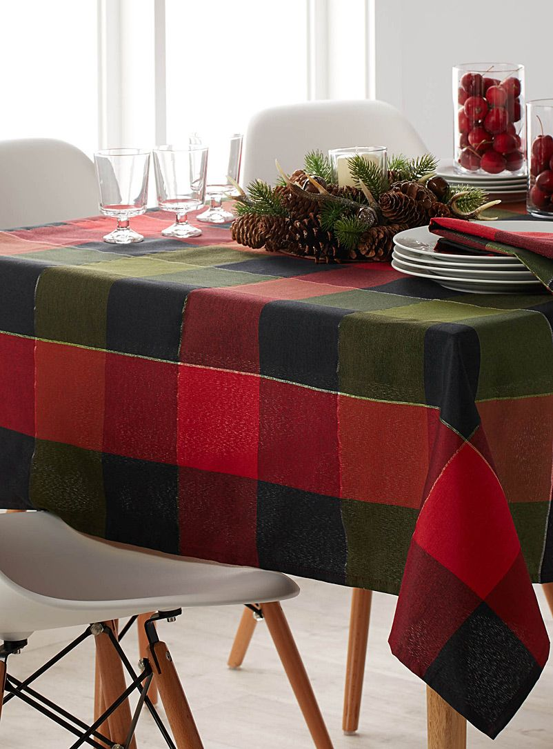 Product Table Cloth Black Tablecloth Checkered Tablecloth
