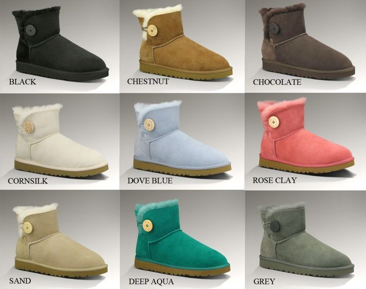 82025e32996 pictures os uggs for pintrest | All colors of UGG Bailey Button Mini ...