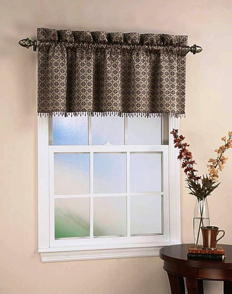 Tailored Valances For Living Room