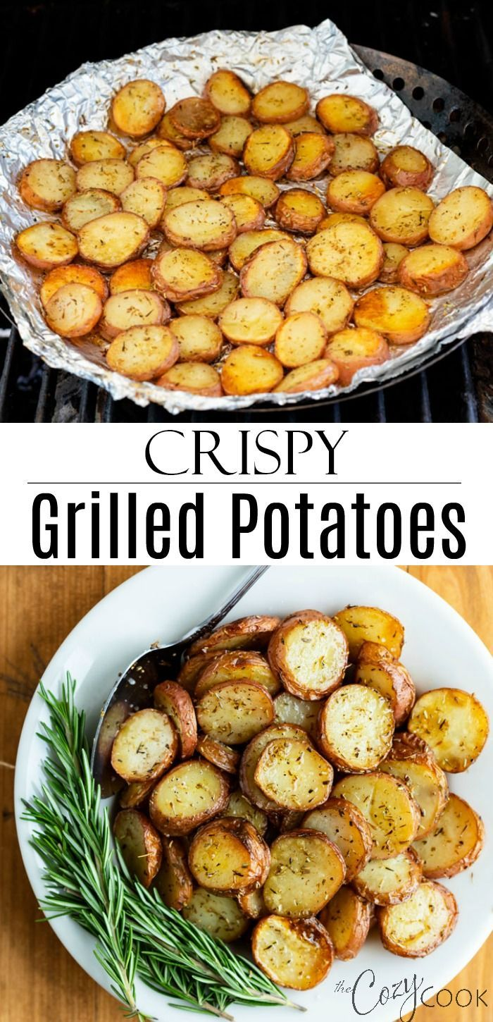 Photo of Grilled Potatoes – The Cozy Cook