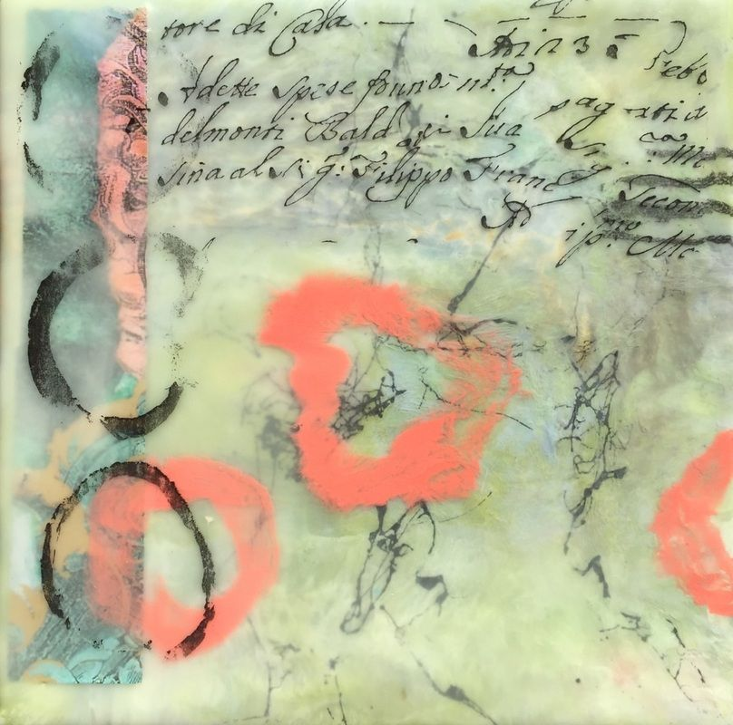 Encaustic Art - Julie Snidle