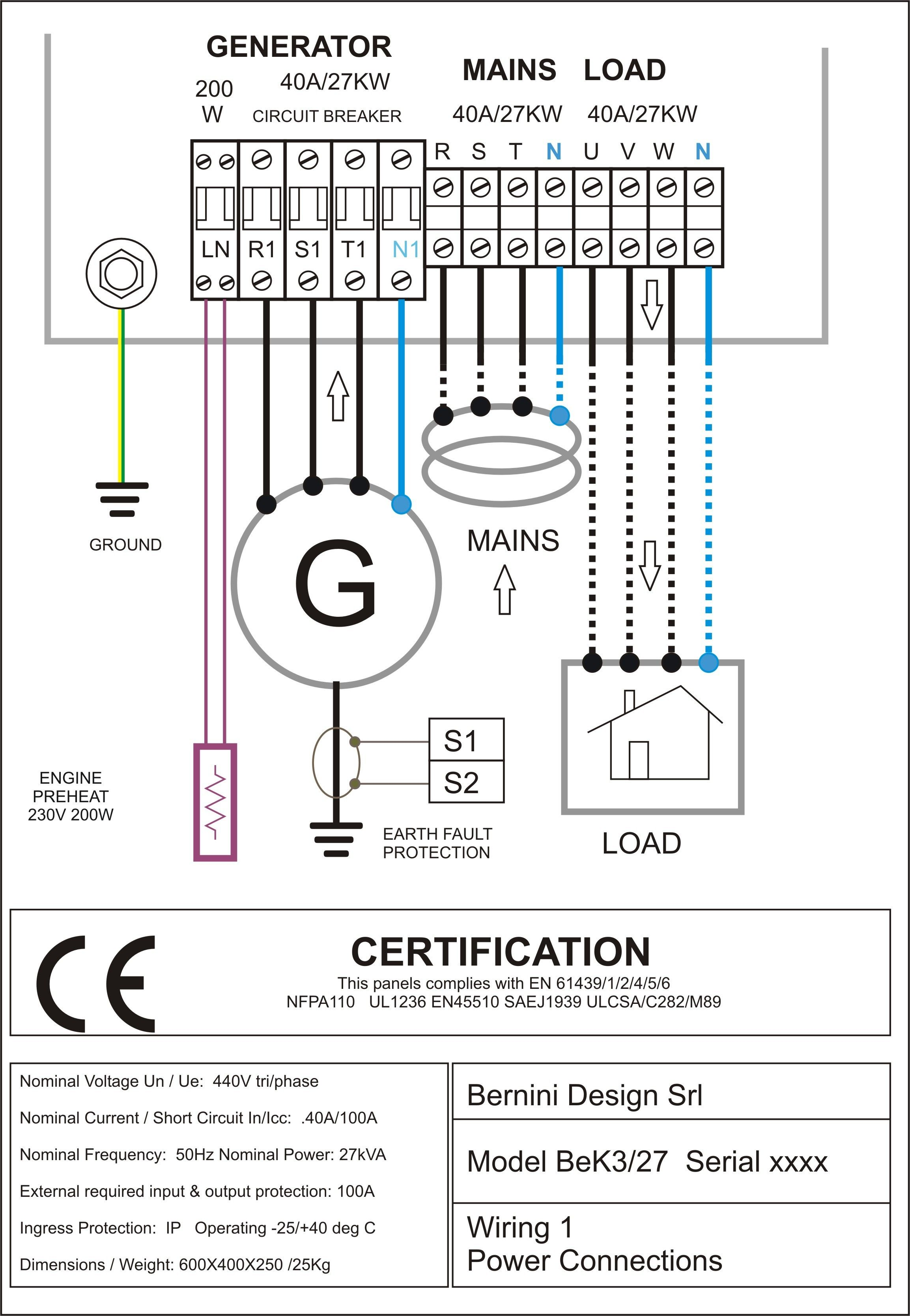 Electrical Diagram Load - Wiring Diagrams on