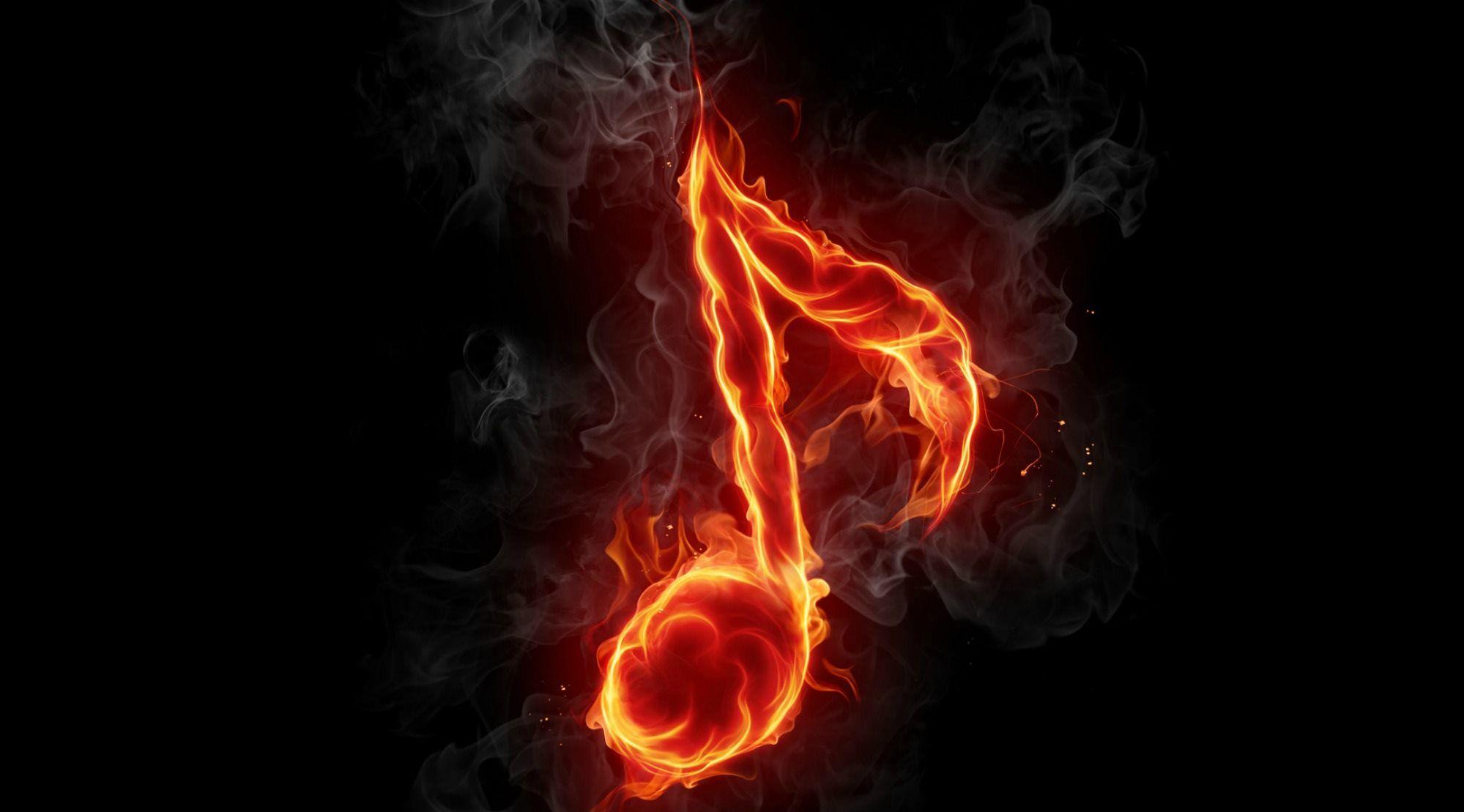 music note fire wallpaper music art amp inspiration