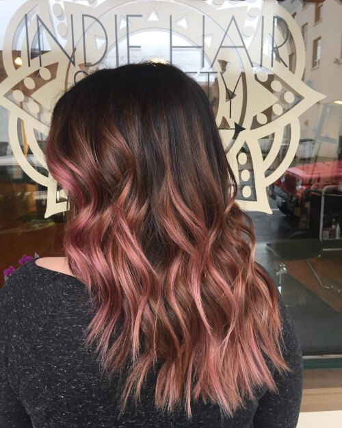 71 Alluring Rose Gold Hair Color Ideas To Try In 2019 Hair Hair