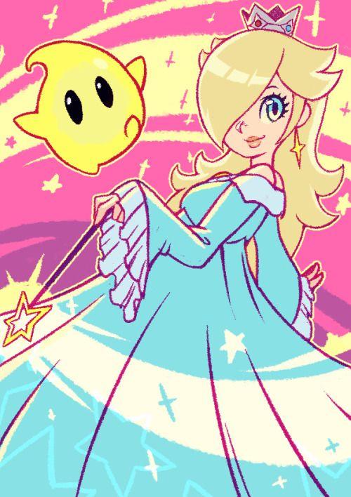 "koidrake: "" I did a doodle of Rosalina "" | fanart | Super"