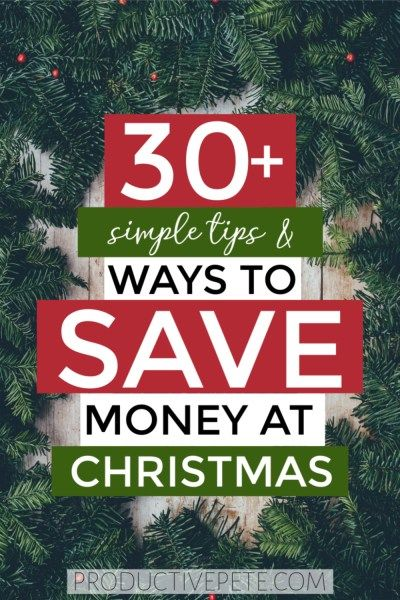 Check out these 30 easy ways to save money at Christmas this year Stick to your budget and stay out of Christmas debt with these frugal but simple ideas Includes hacks to...