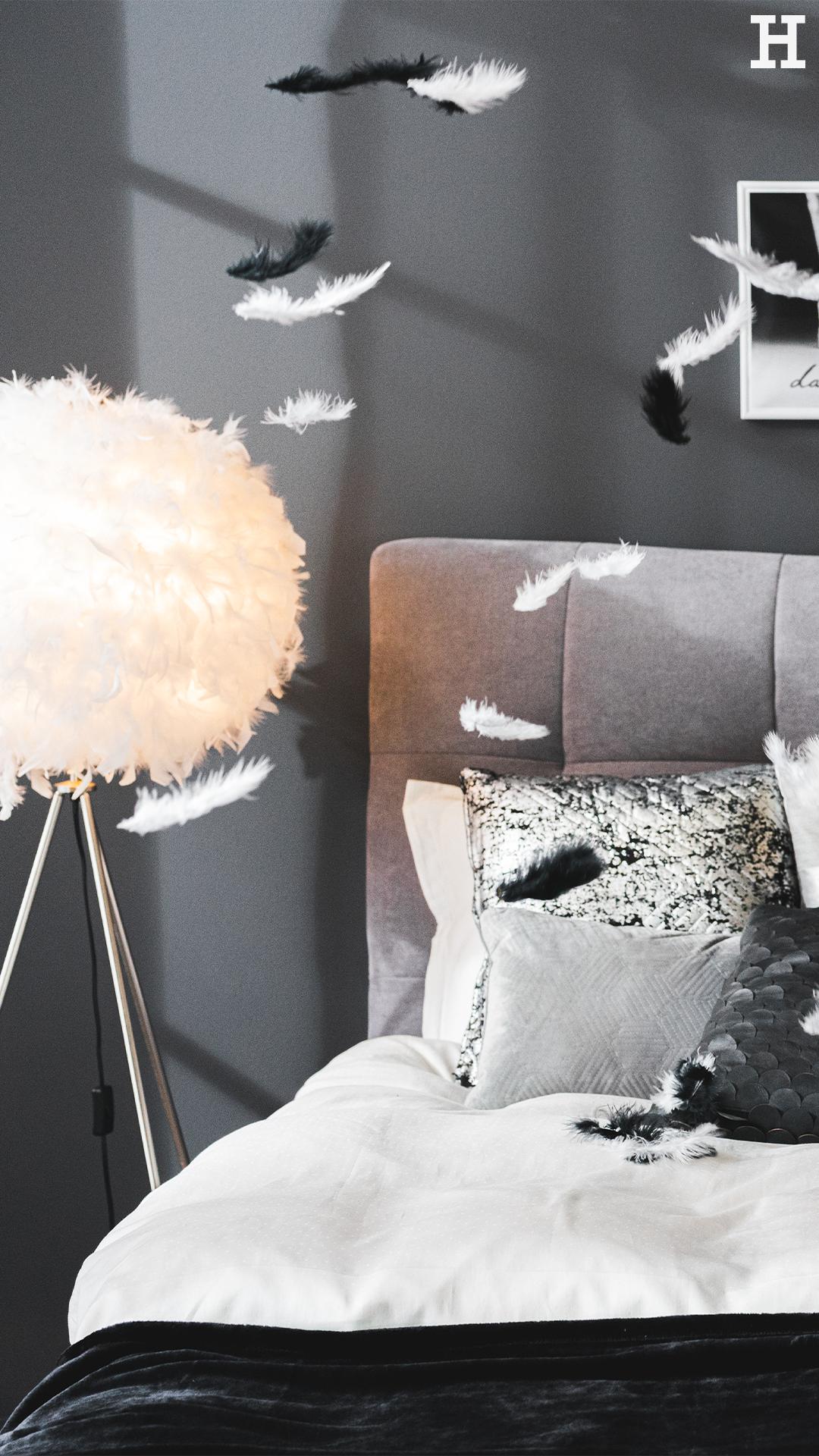 Cosy Grey In 2020 Kleiderstander Modern Federlampe Boxspringbett