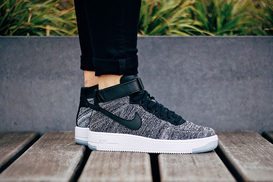 huge discount 9e7a8 b48bd Nike Reworks Air Force 1 Flyknit