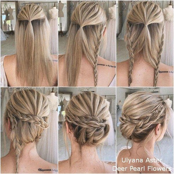 Ulyana Aster DIY Hochzeit Frisur Tutorial #Hochzeit #Hochzeitsideen #Frisuren # ... - #frisuren #makeupforbrides