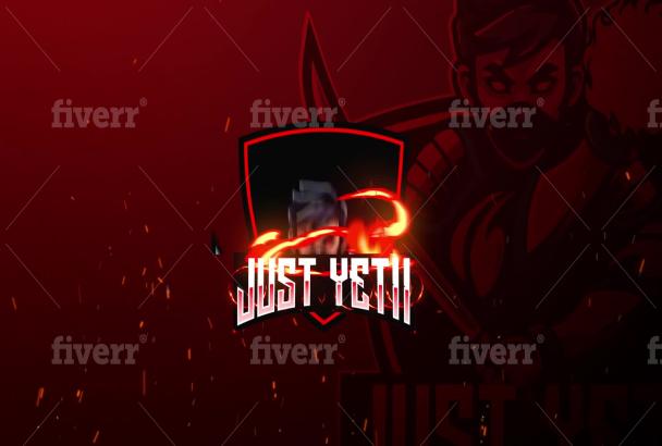 Custom logo intro for twitch, youtube, esport Intro