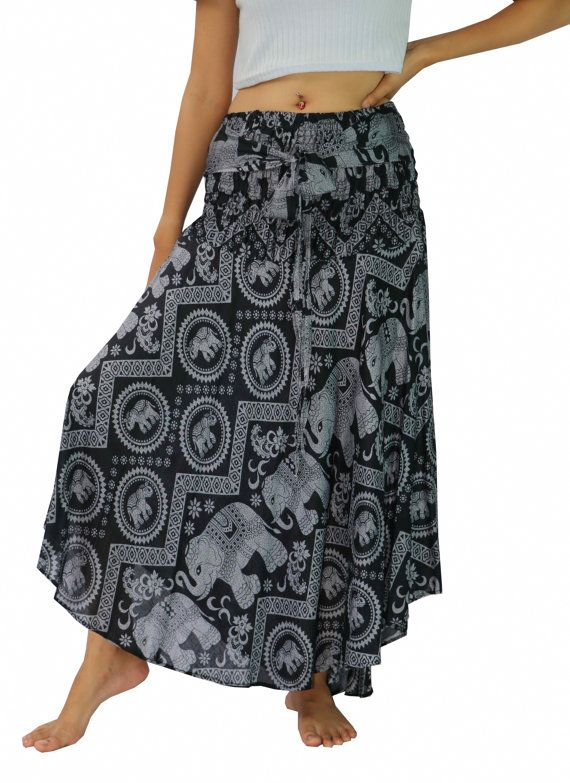 3ffa2e8c36 Women's Boho Skirts Maxi Dress Gypsy Dress Skirt Ray… | Boho Skirts ...