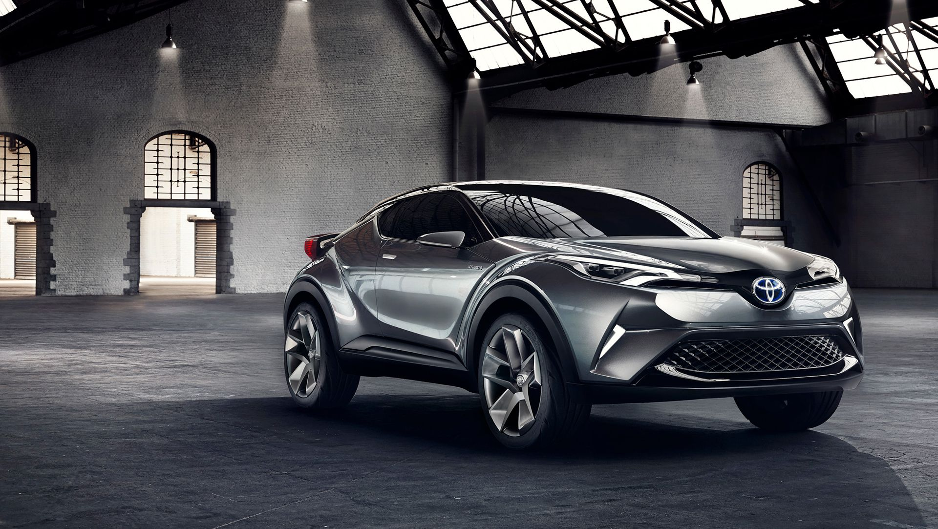 f4483f0466 Toyota has used the world reveal of a second C-HR Concept vehicle to  confirm production plans for an all-new stylish