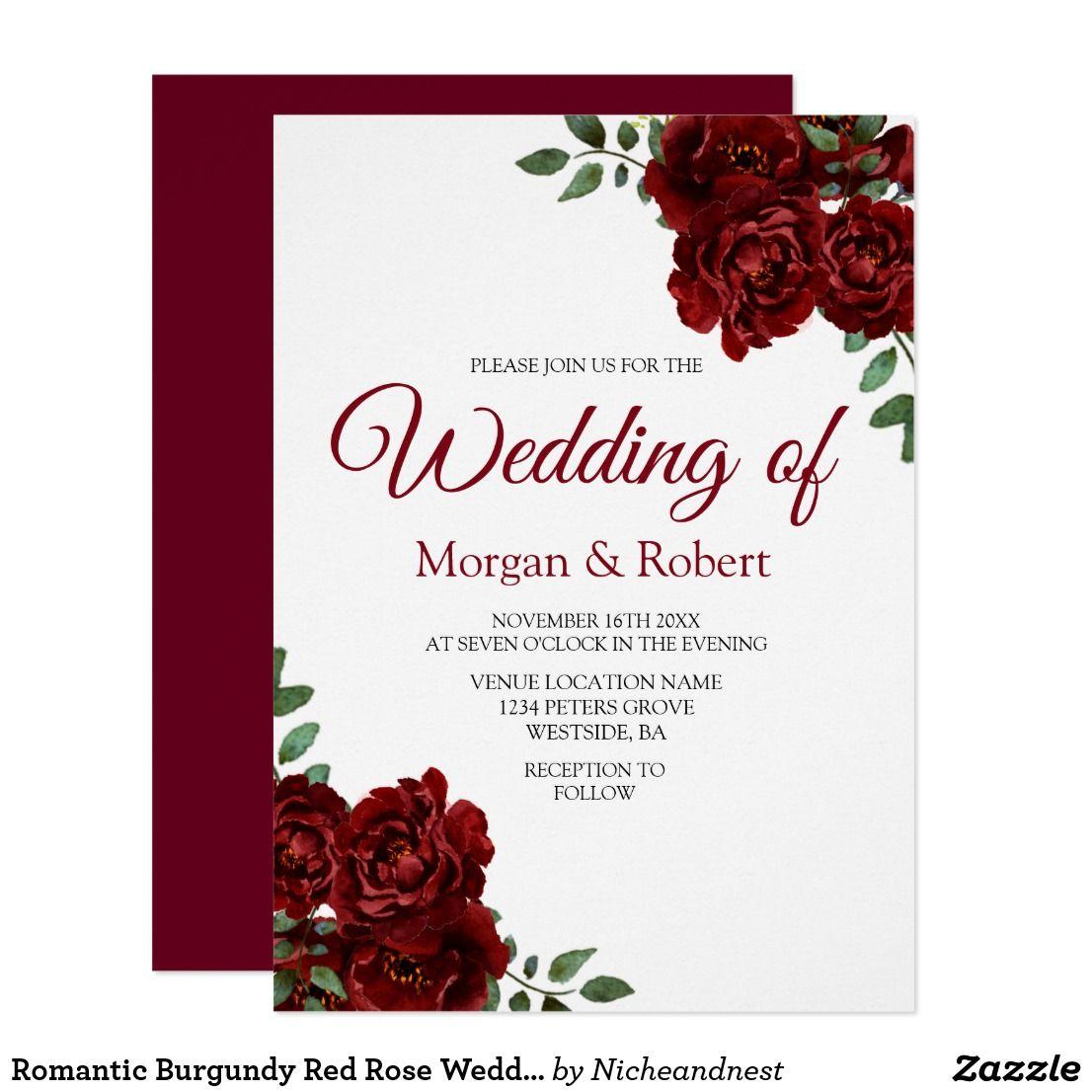 Modern Wedding Invitation Zazzle Ideas - Invitations and ...