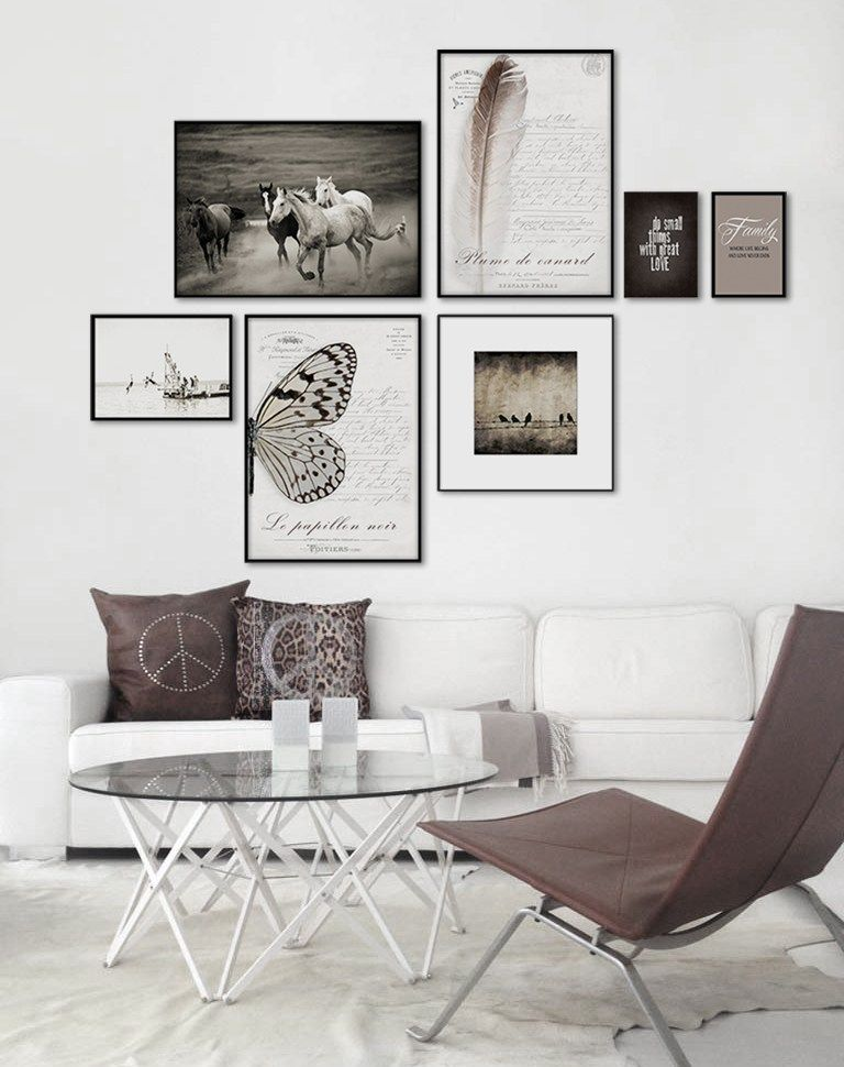 Wall art 10 ideas para decorar tus paredes for Como decorar una casa elegante