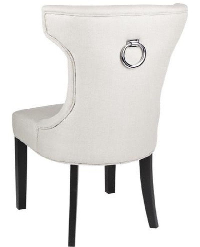 Mayfair Upholstered Dining Chair U2013 Allissias Attic U0026 Vintage French Style