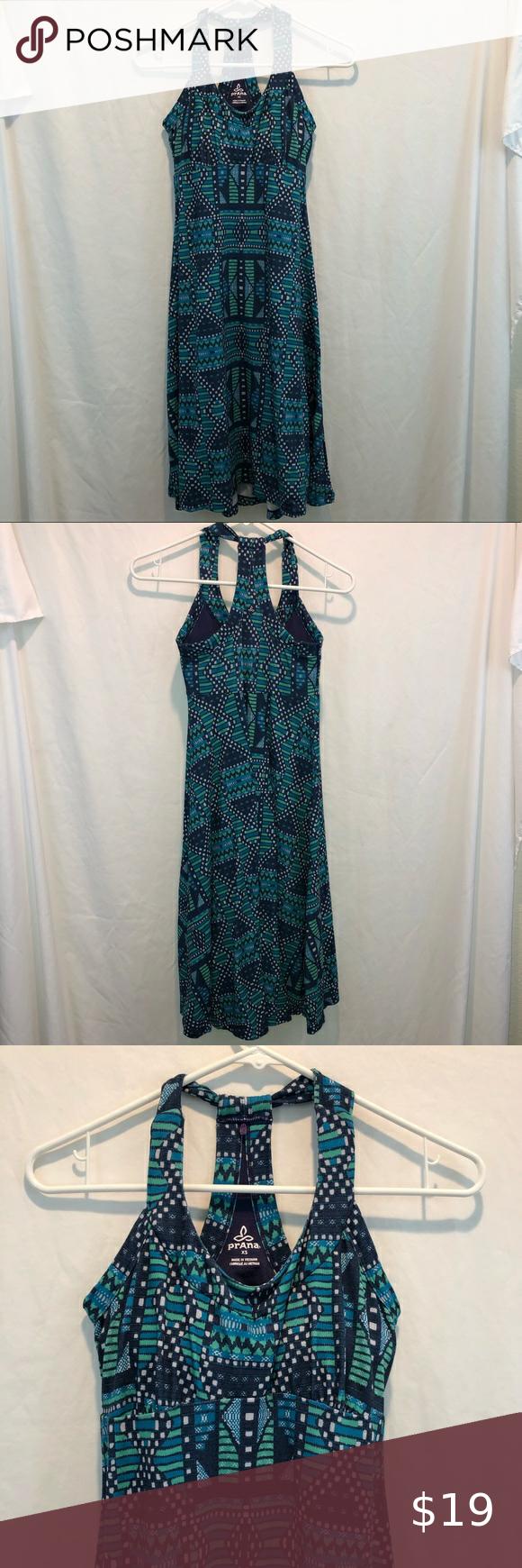 Prana Geometric Blue Green Summer Halter Dress Xs Halter Dress Summer Summer Halters Dresses Xs [ 1740 x 580 Pixel ]